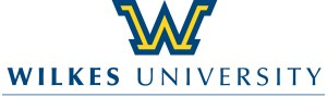wilkes u logo 'w' with name under